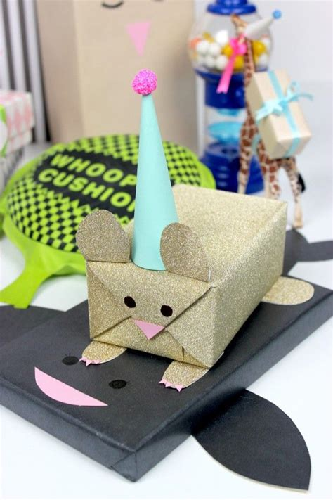 14 Adorable T Wrapping Ideas For Kids Presents Diy