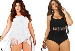 Curvy Plus Size Swimsuit Women