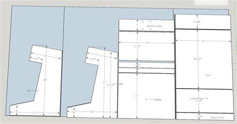 Bartop Arcade Cabinet Plans Pdf by Diy Bartop Arcade Plans Thoughts Cade