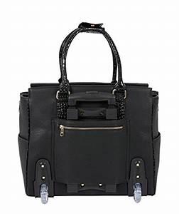Handtasche Mit Rollen : der lexington damen trolley handtasche brieftasche mit rollen f r ipad tablet oder laptop ~ Eleganceandgraceweddings.com Haus und Dekorationen