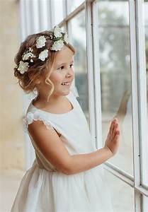 Couronne De Fleurs Mariage Petite Fille : couronne de fleurs pour cheveux de petite fille et b b peut se porter lors d 39 un mariage ~ Dallasstarsshop.com Idées de Décoration