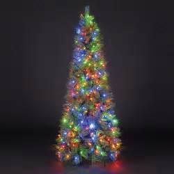 Christmas Tree 7ft Uk by Sale On 6ft 180cm Duchess Spruce Slim Green Pre Lit Led