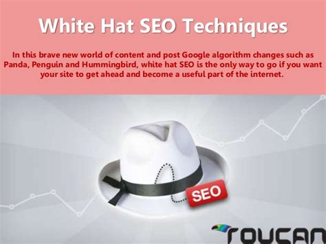 In House Customized White Hat Seo Solutions From White Hat Seo Techniques