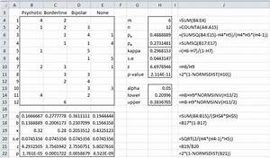 Raumgröße Berechnen : fleiss 39 kappa real statistics using excel ~ Themetempest.com Abrechnung