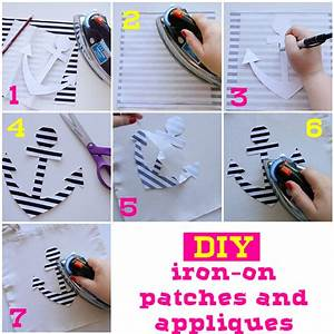diy iron on patches appliques explore amy is the party With how to make iron on letters