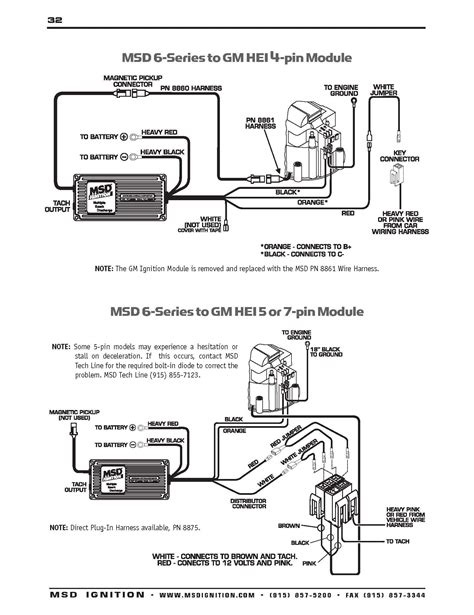 Msd Ignition Wiring Diagrams Chevelle Diagram
