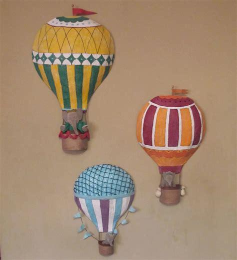 ann  rainbow   sky hot air balloon set
