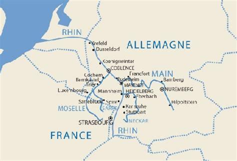 Carte Fleuve Rhin by Amsterdam Le Rhin Romantique Site Sorties Pour Tous