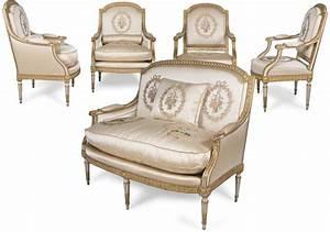 Mobilier De Salon : grand mobilier de salon d 39 poque louis xvi xviiie si cle ~ Teatrodelosmanantiales.com Idées de Décoration