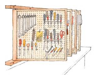 Fine Woodworking Tool Reviews by Free Plan Space Saving Tool Rack Finewoodworking