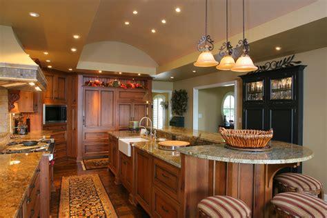 2 level kitchen island being unique