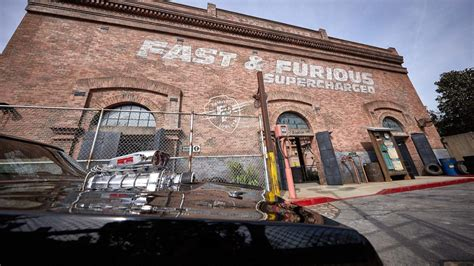 universal   official fast furious supercharged