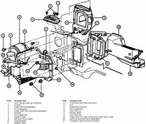 Instruction For A 1994 Lincoln Town Car Heater Core