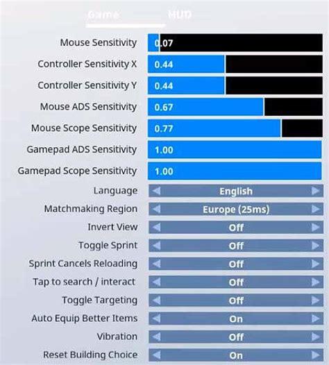 dakotaz fortnite settings keybinds sensitivity gear