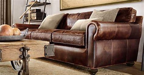 who makes restoration hardware sofas living room ideas from restoration hardware leather