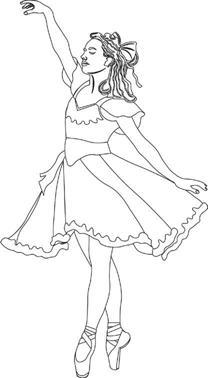 Kleurplaat Ballerina by May I This Coloring Pages Ballerina