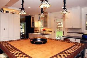 Wood Bathroom Countertops - Wood Countertop, Butcherblock