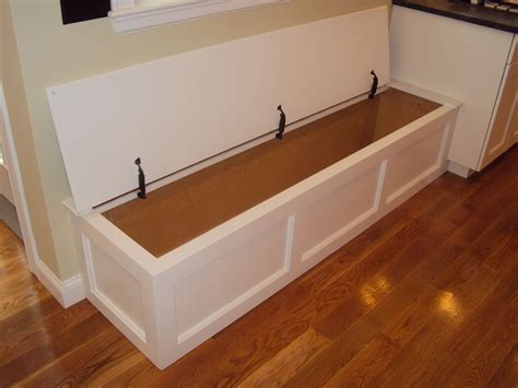 built in kitchen bench and table kitchen bench with hinged top storage wellesley ma