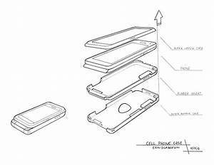 Phone Exploded View Exercise On Behance