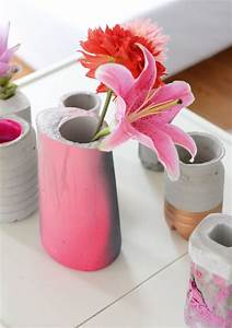 Vasen Aus Beton : vasen aus beton diy video produkttrends ~ Sanjose-hotels-ca.com Haus und Dekorationen