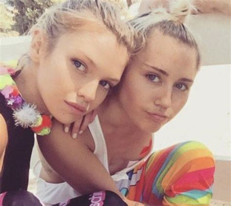 Miley Cyrus Dating Victoria Secret Model Stella Maxwell