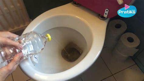 tartre toilettes vinaigre blanc comment nettoyer wc avec vinaigre blanc