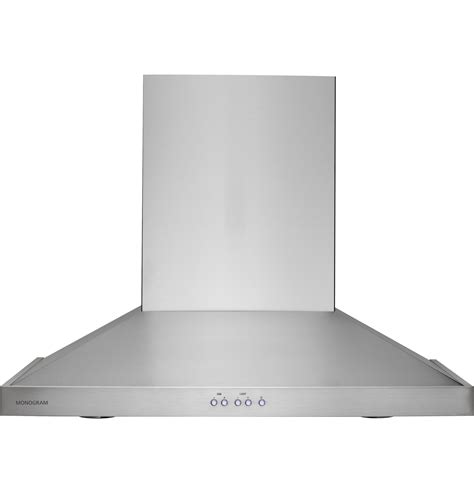 monogram  wall mounted vent hood zvsmss ge appliances