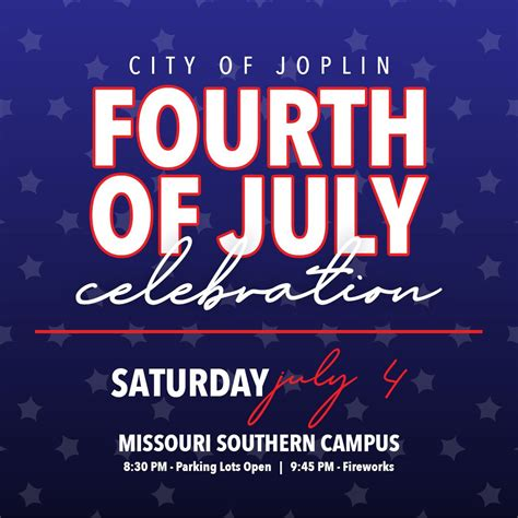 Joplin's 2020 Independence Day Celebration