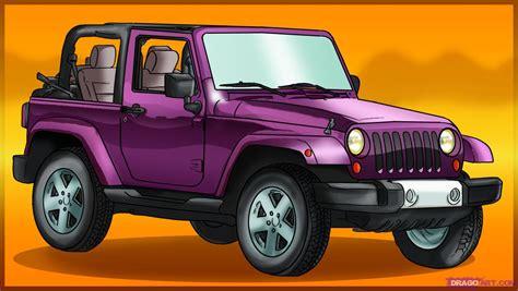 cartoon jeep wrangler cartoon jeep wrangler