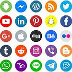 Social Icons Icon Psd Svg Vector Eps