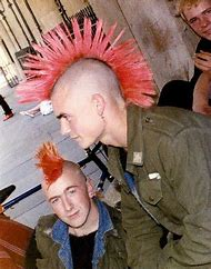 Punk Mohawk Hairstyles for Men