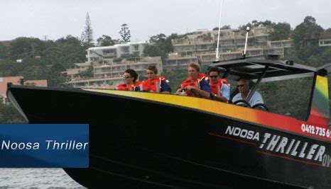 Jet Boat Value by 50 Noosa Thriller Noosaville Deals Reviews Coupons