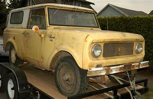 Scout 80 1961 Startup - International Scout Parts