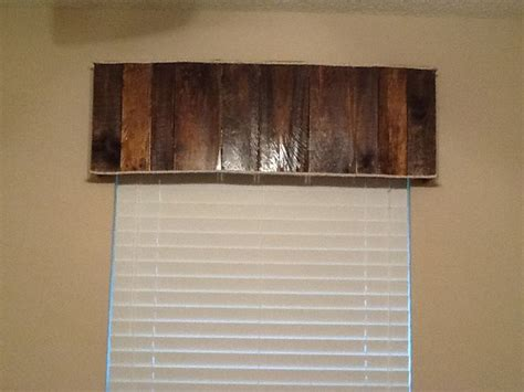 images  wood valance  pinterest rustic
