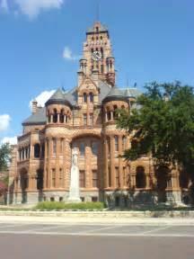 Ellis County Waxahachie TX Courthouse