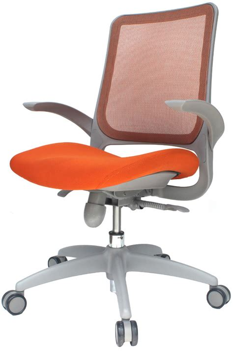 orange desk chair office chairs orange office chairs