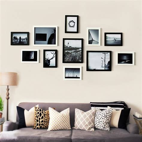 home interior picture frames living room decor family happiness collection wooden