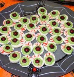 deviled egg plate 20 and spooky food ideas
