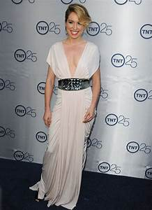 Sarah Carter TNT's 25th Anniversary Party