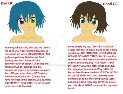 What Makes A Bad Hetalia Oc And A Good Hetalia Oc By