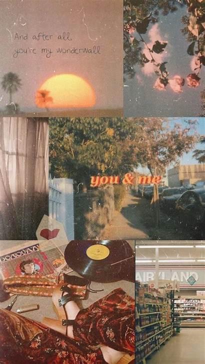 Aesthetic Wallpapers Retro Desktop 70s Backgrounds Kawaii