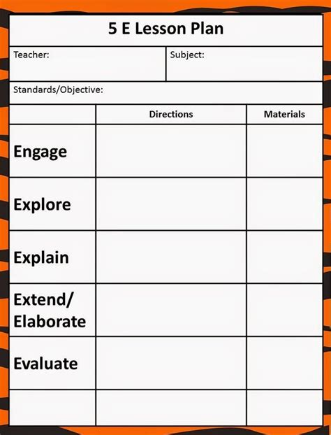 e learning lesson template free lesson plan templates 20 word pdf format download