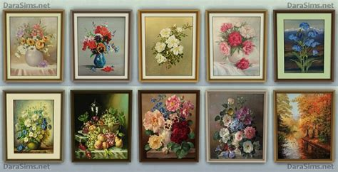 Paintings Set • Sims 4 Downloads