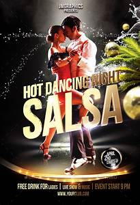 Keynote Game Show Template Salsa Flyer Print Template By Ju Maj Graphicriver