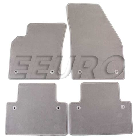 volvo floor mats 39806180 genuine volvo floor mat set gray free