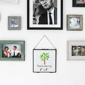 Lot Cadre Photo : cadre photo accrocher vintage cadre photo en metal et verre 8x8 lot de 2 ebay ~ Teatrodelosmanantiales.com Idées de Décoration
