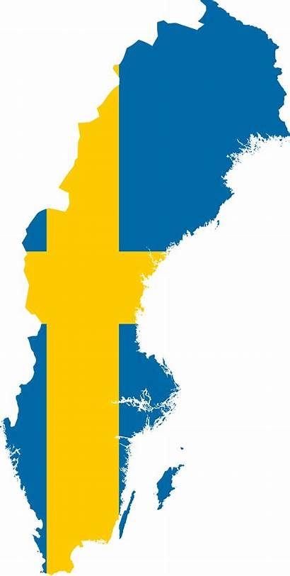 Sweden Flag Map Wikimedia Svg Commons Wikipedia