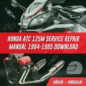 Honda Atc 125m 1984