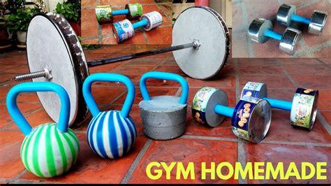 homemade dumbbells diy barbells kettlebells dumbbell gym barbell