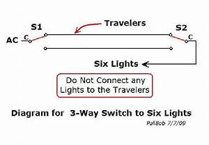 3-way Switch Diagram - Electrical